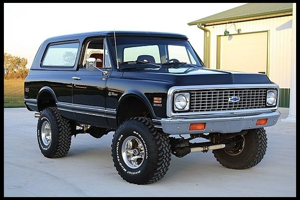 1971 Chevrolet K5 Blazer 396 CI, Automatic for sale by Mecum Auction... (They NEVER Came With Big Blocks & NOBODY Knows How To Do It Right in a Blazer Or Jimmy!!)