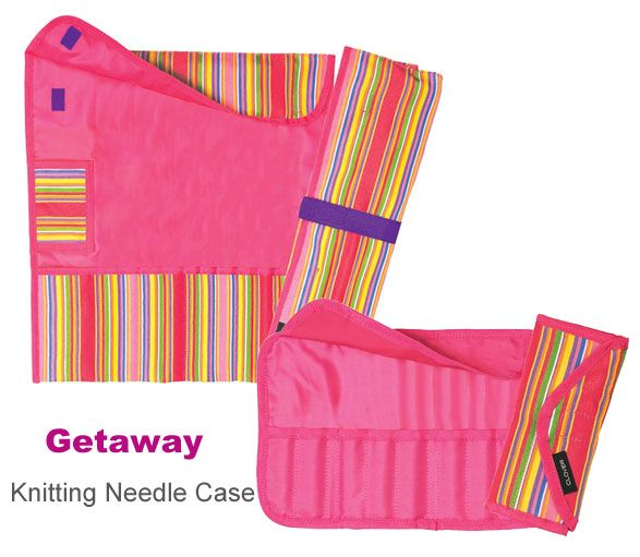 Clover Getaway Knitting Needle Case