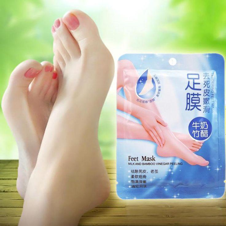 New Exfoliating Peel Foot Mask Baby Soft Feet Remove Scrub Callus Hard Dead Skin Feet Mask HB88