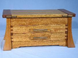 Greene and Greene inspired Jewelry box