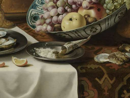 Still Life with a Turkey Pie, Pieter Claesz., 1627 - stillevens-Collected Works of Eva Corpeleijn - All Rijksstudio's - Rijksstudio - Rijksmuseum