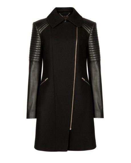 Best 25  Leather sleeve jacket ideas on Pinterest | Leather ...