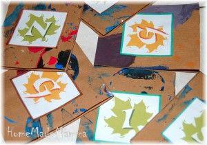 Le foglie dell'Abc  -abc leaves