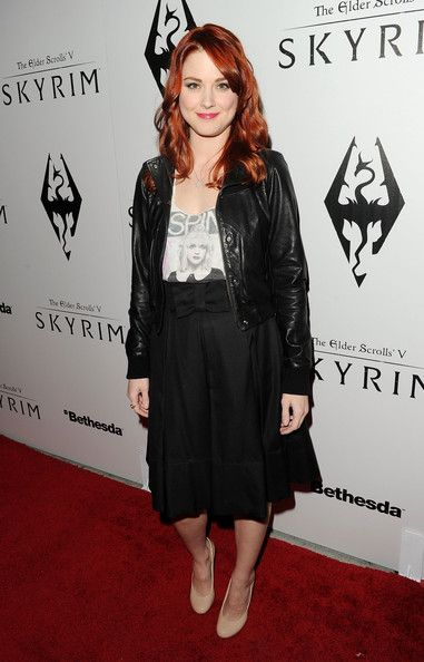 Alexandra Breckenridge Photos Photos - Actress Alexandra Breckenridge arrives at the official launch party for the most anticipated video game of the year, The Elder Scrolls V: Skyrim, at the Belasco Theatre on November 8, 2011 in Los Angeles, California. - The Elder Scrolls V: Skyrim Official Launch Party - Red Carpet