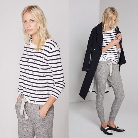Lookbook Claudie Pierlot - pré collection printemps été 2015 2016