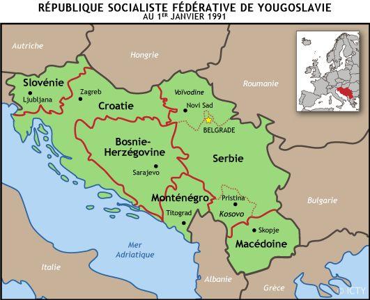 Qu'est-ce que l'ex-Yougoslavie?   Tribunal pénal international pour l'ex-Yougoslavie