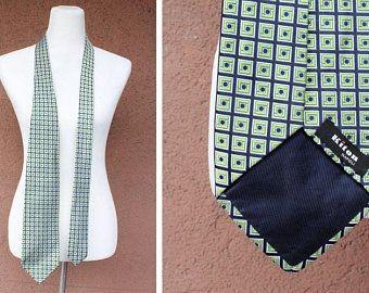 Kiton Napoli Geometric Motif Silk Tie
