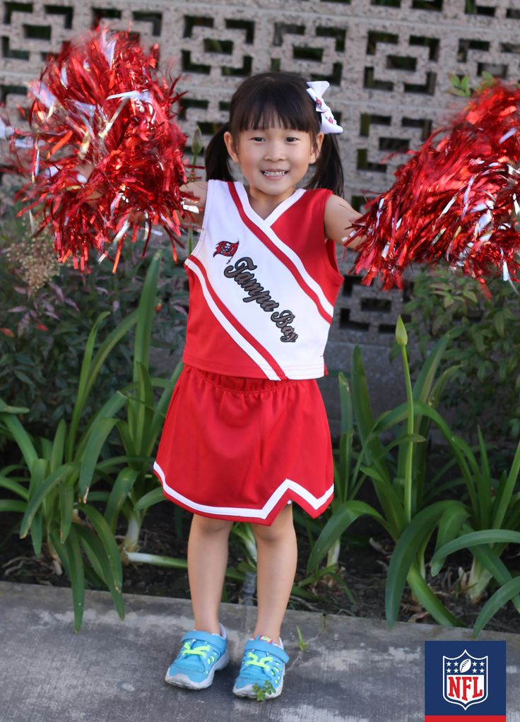 A Buccaneers cheerleader in the making or this year's Halloween costume? You decide! (via Being MVP)