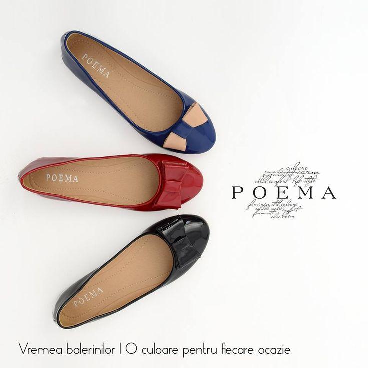 Balerini comozi POEMA http://shop.poema.ro/poemashop