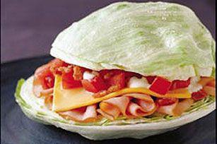 Breadless Turkey BLT