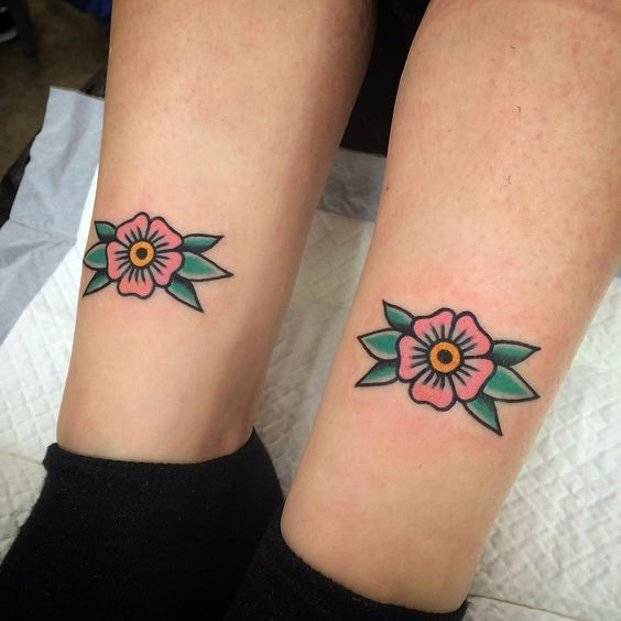 Little Traditional Tattoos: 40+ Fantastic Old School Tattoo Ideas – Tattoo's – #Fantastic #small #School #TattooIdeas