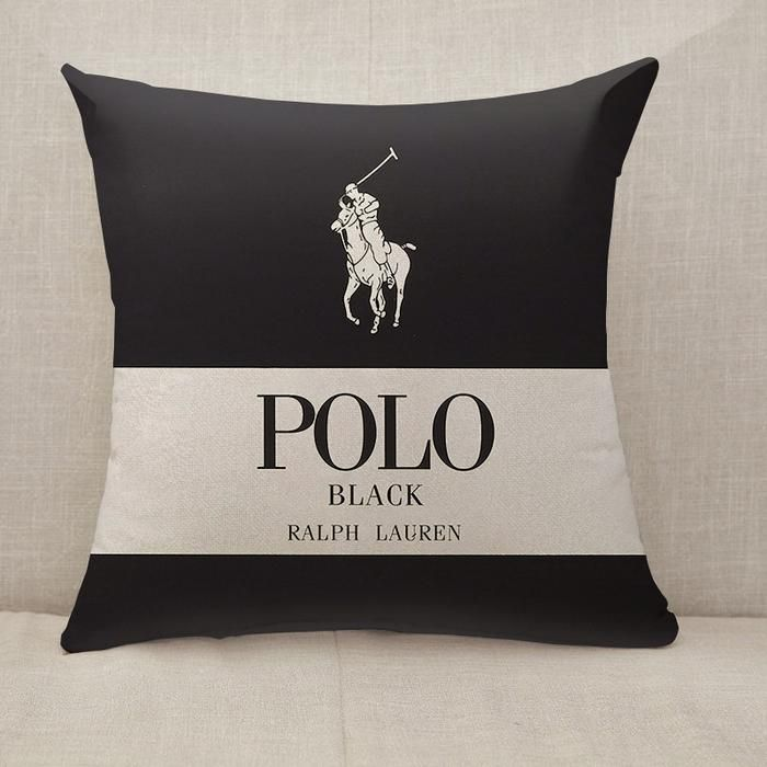 Ralph Lauren Polo Logo Throw Pillow Cushion Cover Fillings