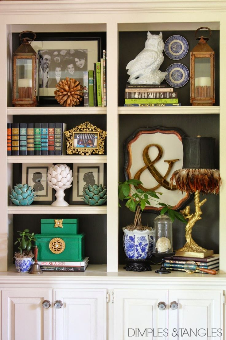 DIY LACQUERED BOXES, bookshelf styling