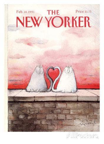 The New Yorker Cover - February 18, 1991 Regular Giclee Print
