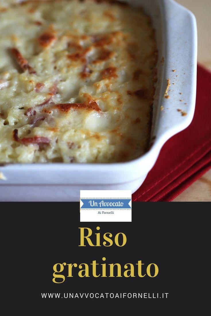 #riso gratinato