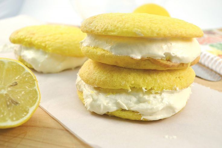 Delicious lemon whoopie pies are fun for the whole family!