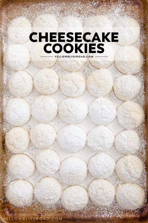 Cheesecake Cookies (Re-do) – Chelz Adams
