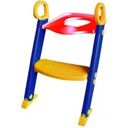 BAMBINO STEP #TOILET #TRAINER / BENNETON. Toilet Training seat with built in adjustable footrest. Encourages #children to become independent.