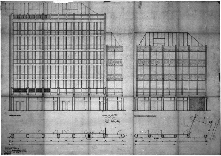Edificio per abitazioni e uffici 1963 - 1967 /Luigi Figini, Gino Pollini