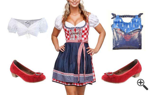 Dirndl Trends 2016 + Oktoberfest Outfit Tipps: http://www.fancybeast.de/dirndl-2016-trand-oktoberfest-outfit/ #Dirndl #Kleider #Oktoberfest #Outfit #Dress #Wasen #München Oktoberfest Outfit Dirndl 2016 Trand