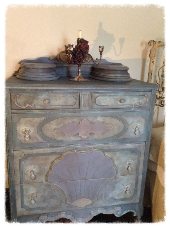antique blue dresser french country dresser shabby chic chest of drawers art nouveau dresser. Black Bedroom Furniture Sets. Home Design Ideas