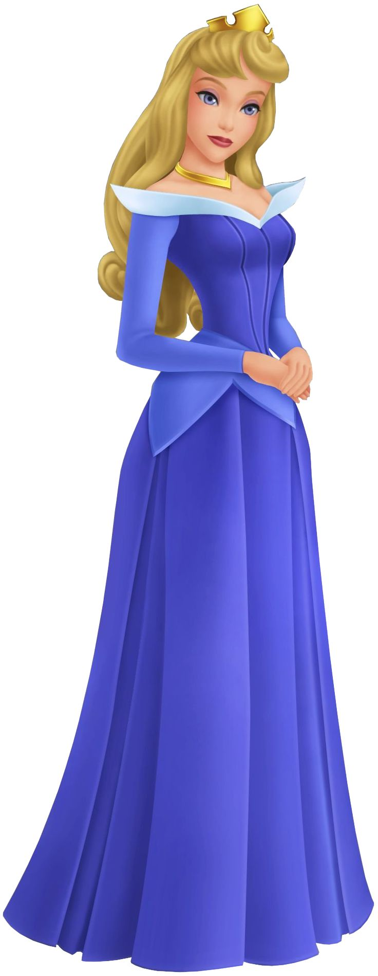 Aurora as she appears in the Kingdom Hearts series.