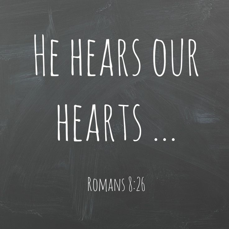 romans 8:26 ... if we don't know how or what to pray, it doesn't matter. he does our praying in & for us, making prayer out of our wordless sighs, our aching groans. He knows us far better than we know ourselves ...