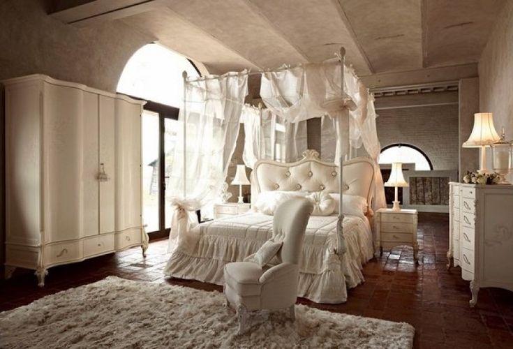 Die besten 25 romantische schlafzimmer ideen auf - Antike schlafzimmermobel ...
