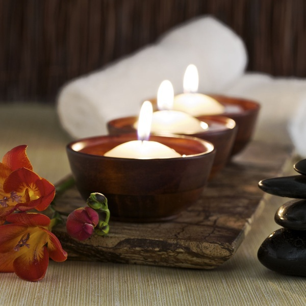 Candles + Balinese style