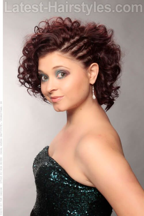 cute curled hair styles 17 best ideas about curly hairstyles on 8812 | 0be48566481a224a2cd554ac3153a343