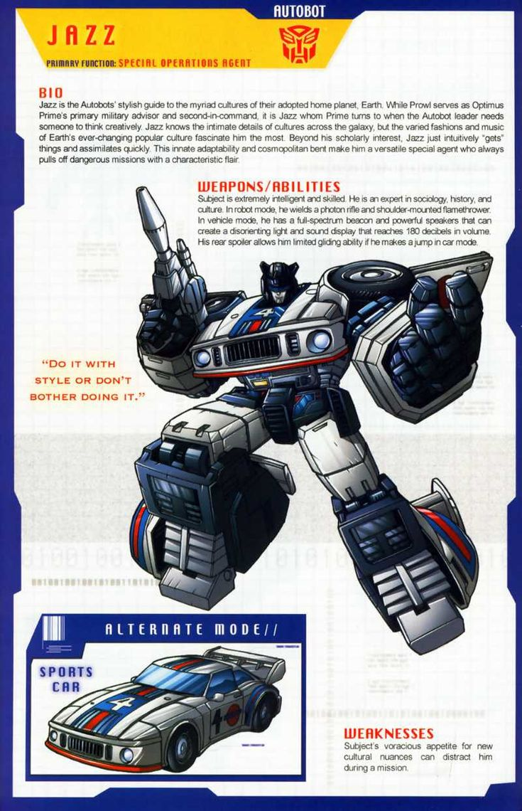 Transformers Universe - Gallery: G1 Jazz