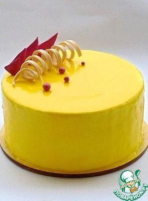 """Торт """"Лимонно-малиновый"""""""