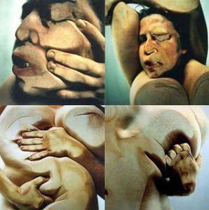 « Facial Variation Cosmetic » (1972), Ana Mendieta