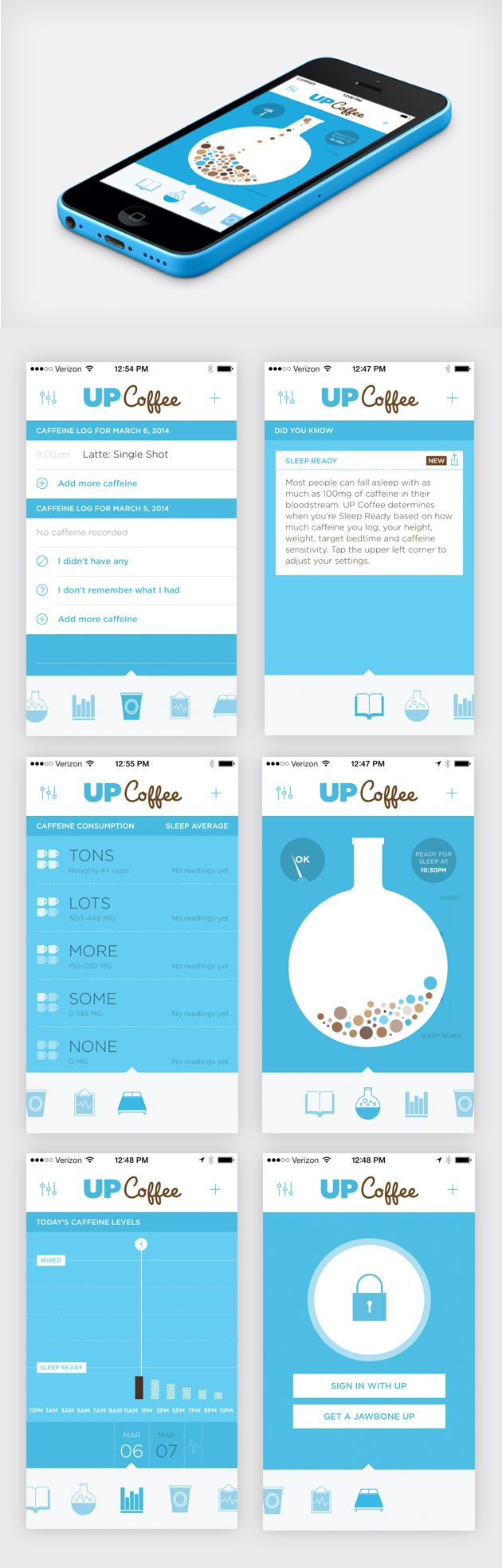 Up Coffee App | Jawbone