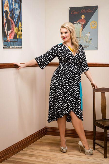 Sophia Wrap Dress - Speckle. Purchase: http://sprinkleemporium.bigcartel.com/product/sophia-wrap-dress