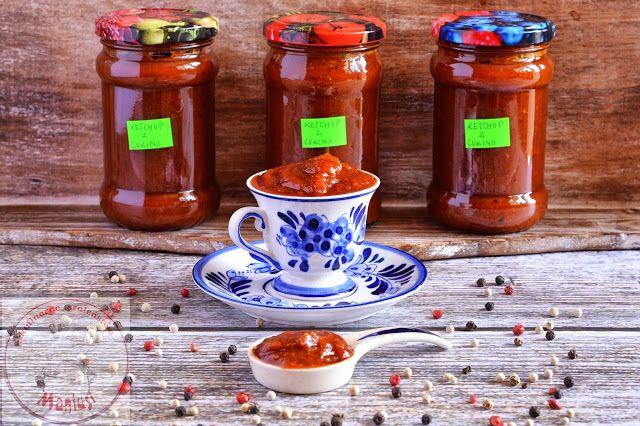 Ketchup z cukinii - Kulinarna Maniusia - blog kulinarny