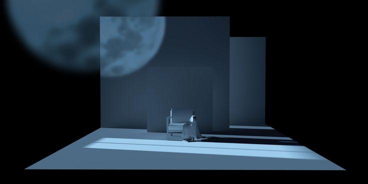 """Scénographie """"Un jeune homme pressé"""" Eugène Labiche Set design"""