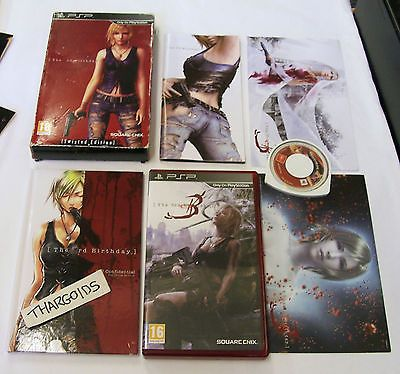 THE 3rd BIRTHDAY TWISTED EDITION - PSP GAME - PARASITE EVE 3 -  GREAT GAME