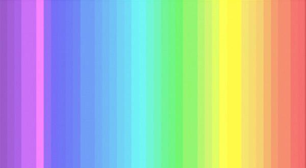 Všechny odstíny tohoto spektra vidí jen 25% lidí
