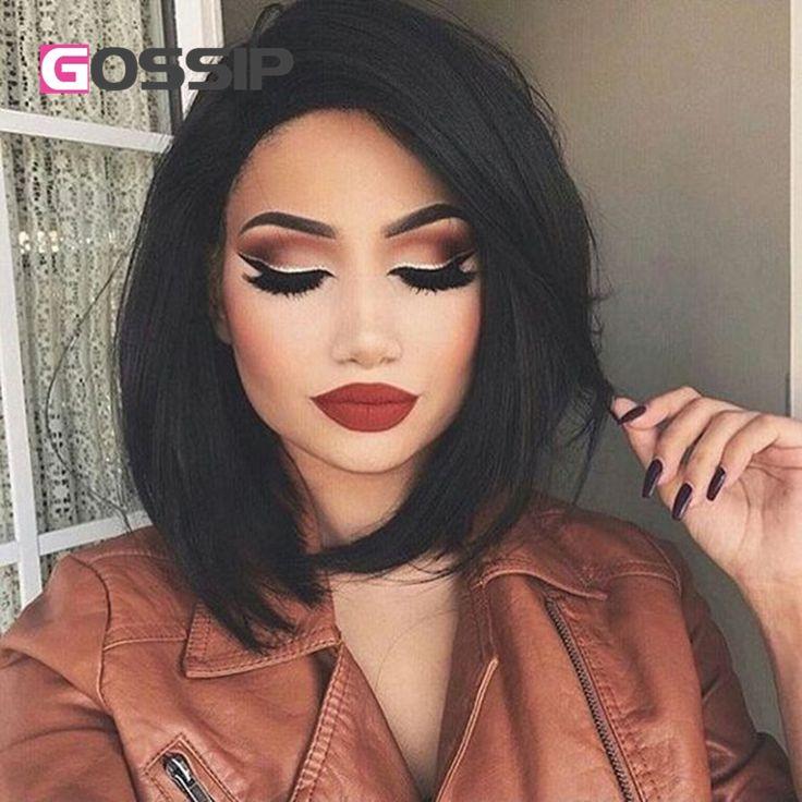 Peachy 17 Best Ideas About Short Human Hair Wigs On Pinterest Short Hairstyles For Women Draintrainus