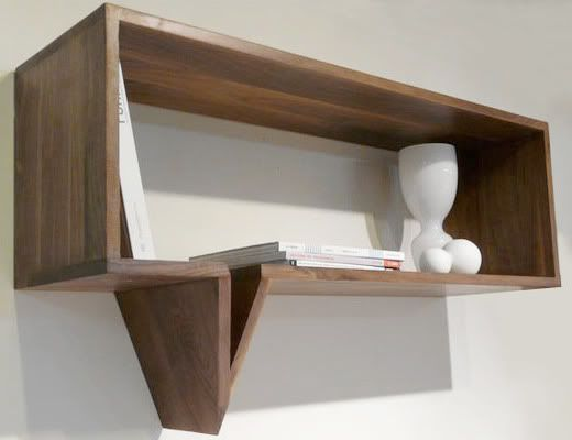Traditionally Modern Designs: Speech Bubble Shelf!
