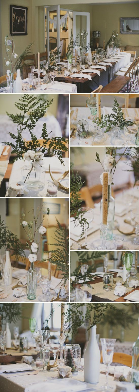 {style} Simple yet elegant.  We like this look and feel.  Maid of honor has a big rosemary bush and I have a big lavender like bush. We can trim as much as we need.
