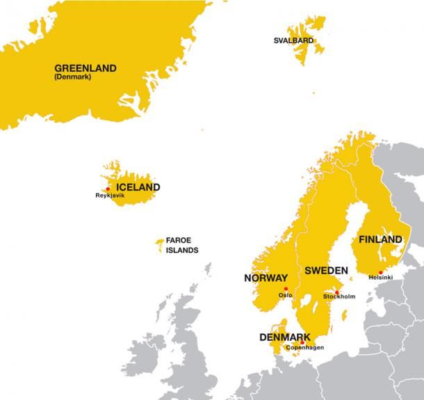These Are The Nordic Countries While The Term Scandinavia Is Used For Just Denmark Norway And Sweden Faroe Islands Denmark Svalbard Norway Nordic Countries