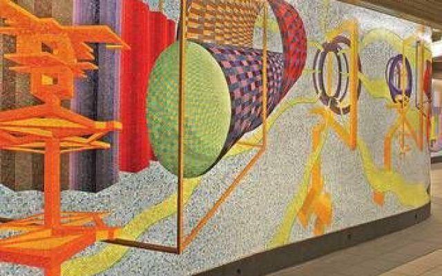 Arte in Metropolitana: un museo gratis tutto da scoprire! Siete stanchi dei soliti musei? A New York potrete apprezzare per d'arte contemporanea al prezzo di un biglietto della metro! #arte #metropolitana #newyork