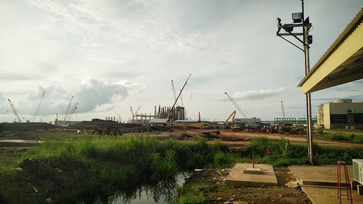 OKI's Mill Site  #photo #view #scenery #photooftheday #photography #potd #instaphoto #project #mill #civil #MEI #construction #palembang
