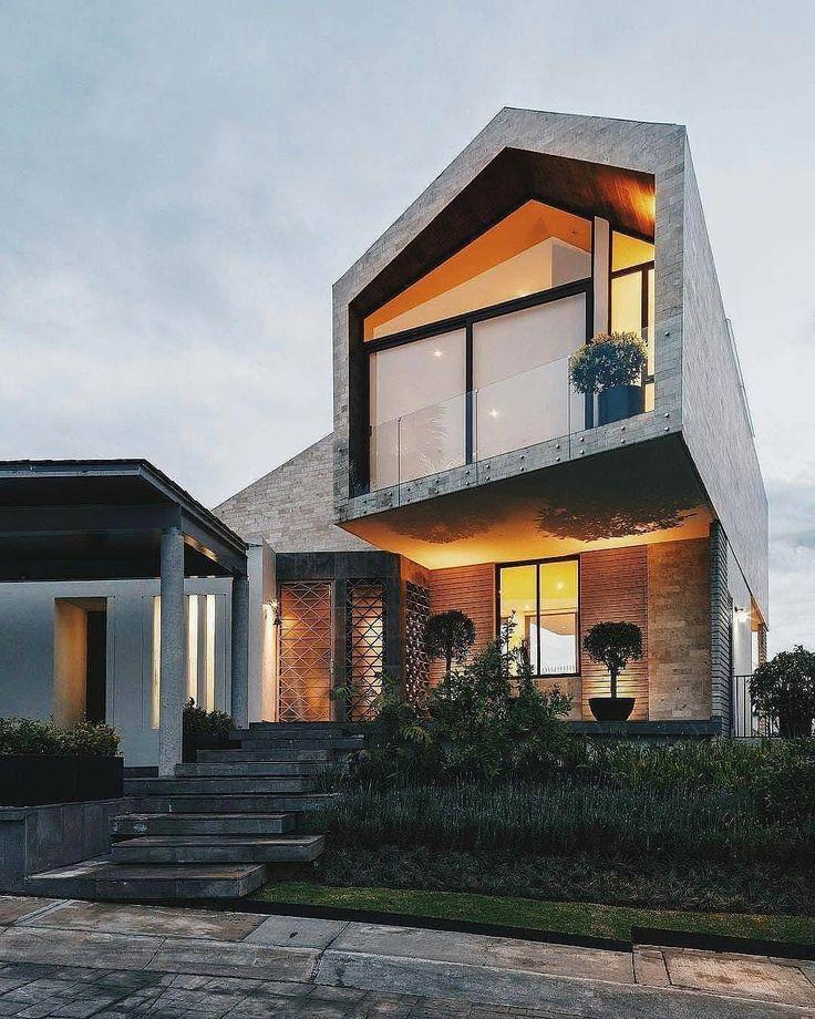 """569 aprecieri, 1 comentarii - Classy Homes (@classy.homes) pe Instagram: """"LPZ House. Follow @elegantlife Designed by Arquitectura en Movimiento Workshop, In Mexico City,…"""""""