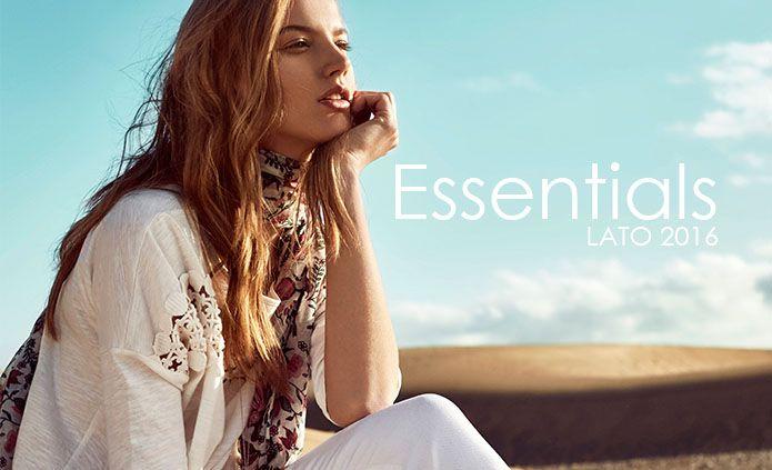 Essentials lato 2016 - bazy damskich stylizacji