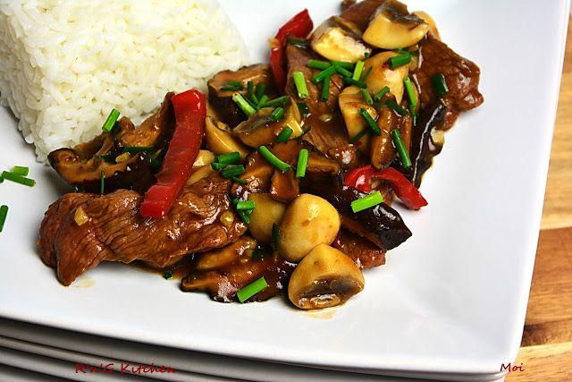R'n'G Kitchen: Wołowina w sosie ostrygowym