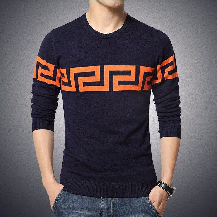 Men's Sweaters, winter Casual Shirt Pullover Pull Jersey 5XL Male Polo