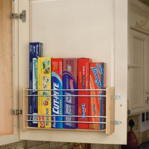 Rev-a-Shelf Vertical Foil Rack - Kitchen Storage & Organization at Hayneedle